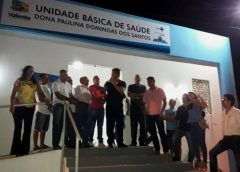 Comunidade de Itarerú recebe Unidade de saúde.